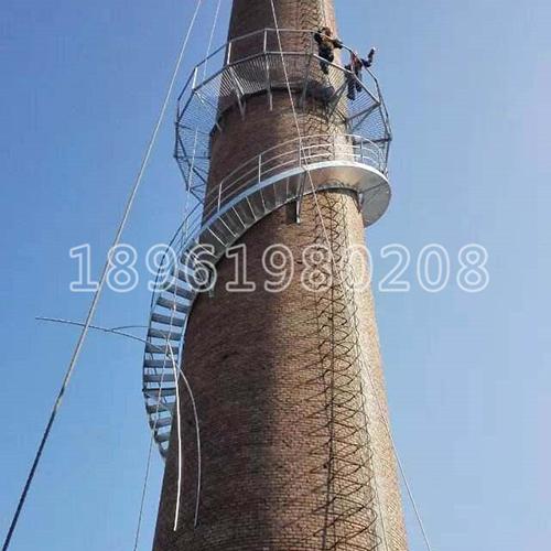 烟囱安装监测梯