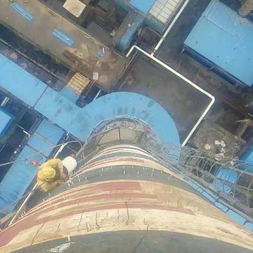 烟囱渗水维修