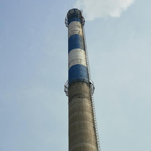 锅炉房烟囱维修
