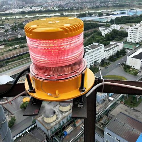 安装航空障碍灯